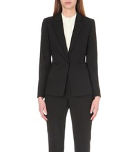 Reiss Dartmouth Wool Blend Blazer Black