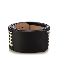 Sportmax Fatima Woven Leather Belt