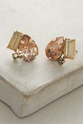 Anthropologie Ember Studs Peach
