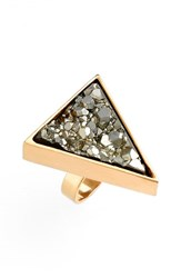 Seraphine Design Women's 'Cosmo' Pyrite Ring