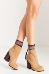 Jeffrey Campbell Rumble Ankle Boot Taupe