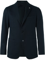 Tagliatore Tailored Blazer Blue