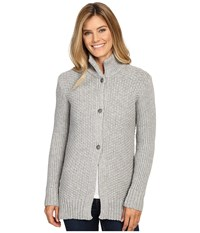 Dale Of Norway Gudrun Jacket Light Charcoal Women's Coat Gray