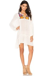 Jens Pirate Booty Summer Bloom Dress Ivory