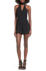 C Meo Collective Women's Make It Right Halter Neck Romper