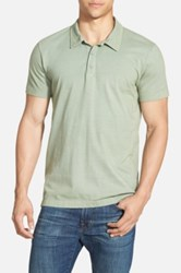 Lucky Brand 'Paperweight' Jersey Polo Green