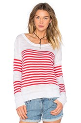 Feel The Piece Lawrence Pullover Red