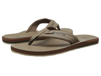 Quiksilver Carver Nubuck Tan Solid Men's Sandals