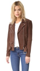 Veda Jayne Suede Jacket Cedar Brown