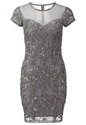 Miss Selfridge Cocktail Dress Party Dress Grey
