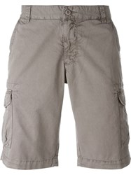 Woolrich Pocket Detail Cargo Shorts Grey