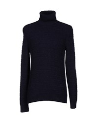 Lab. Pal Zileri Knitwear Turtlenecks Men Dark Blue