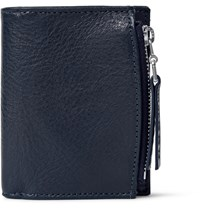 Maison Martin Margiela Grained Leather Wallet Blue