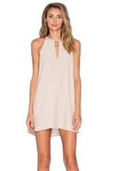 Amanda Uprichard Riley Dress Beige