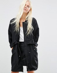 Minimum Waist Detail Jacket Black
