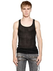 Faith Connexion Ribbed Cotton Jersey Tank Top