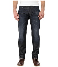 Dkny Bleecker Jeans In Titan Dark Indigo Wash Titan Dark Indigo Wash Men's Jeans Blue