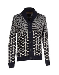 Only And Sons Knitwear Cardigans Men Dark Blue