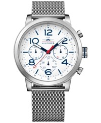 Tommy Hilfiger Men's Casual Sport Stainless Steel Mesh Bracelet Watch 46Mm 1791233