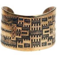 House Of Alaia All Around Me Peaceful Navajo Cuff Silver