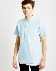 Publish Theodore Short Sleeve Shirt Light Blue