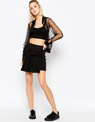 Cheap Monday Tie Waist Skirt Black