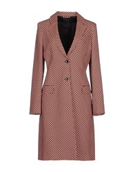 Jonathan Saunders Coats And Jackets Full Length Jackets Women Coral