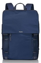 Tumi 'Voyageur Sacha' Flap Backpack Blue Indigo