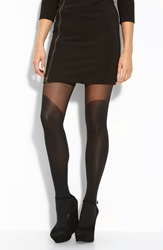 Pretty Polly Over The Knee Tights Black
