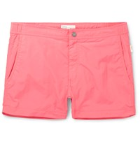 Onia Calder Mid Length Swim Shorts Pink