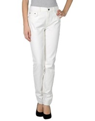 Proenza Schouler Denim Pants White