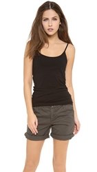 Splendid Cami Tank With Bra Black