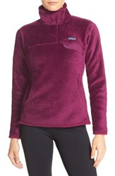 Patagonia Women's 'Re Tool' Snap Pullover Violet Red Violet Red X Dye