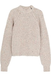 Etoile Isabel Marant Happy Knitted Sweater Beige