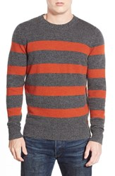 Men's Ben Sherman Regular Fit Stripe Crewneck Sweater