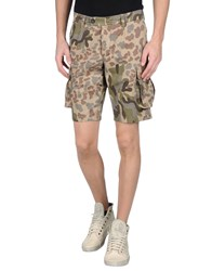 The Editor Trousers Bermuda Shorts Men Sand