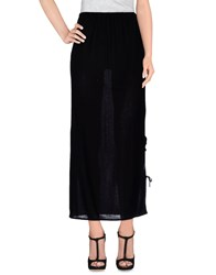 Cheap Monday Skirts 3 4 Length Skirts Women Black
