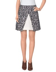 Cameo Skirts Mini Skirts Women Light Grey