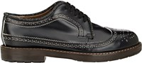 Marni Leather Wingtip Derbys Black