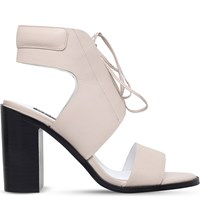 Senso Valleri Vi Leather Heeled Sandals Nude