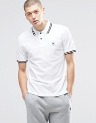 Converse Chuck Polo Shirt In White 10003129 A01 White