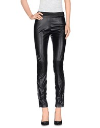 Plein Sud Jeanius Trousers Casual Trousers Women Black