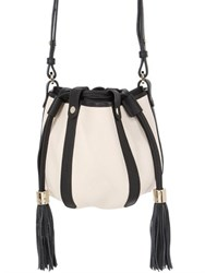 See By Chloe Vicki Grained Leather Bucket Bag