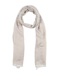 Bikkembergs Accessories Oblong Scarves Men Light Grey