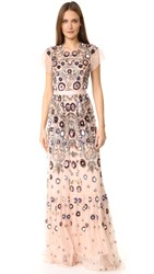 Needle And Thread Enchanted Lace Maxi Dress Blush