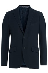 Etro Knit Blazer Blue