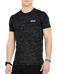 Polo Ralph Lauren Printed All Sport Compression Tee Black