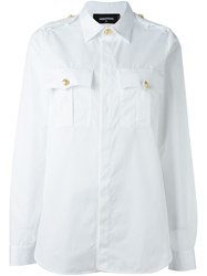Dsquared2 'Sergeant' Shirt White