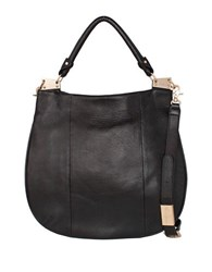 Foley Corinna Dione Leather Hobo Black