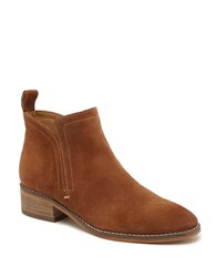 Dolce Vita Tessey Slip On Ankle Booties Brown